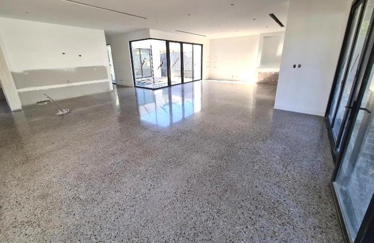 concrete floor polishing in Montréal