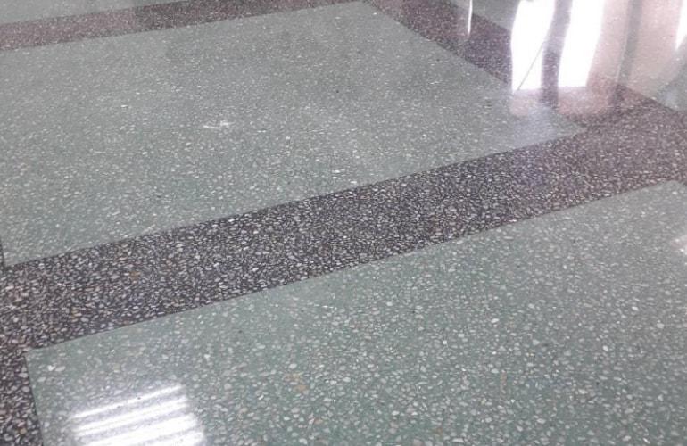 concrete floor polishing in Terrebonne
